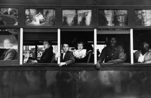Robert Frank, Trolley, New Orleans, 1955 (© Robert Frank. All rights reserved.)