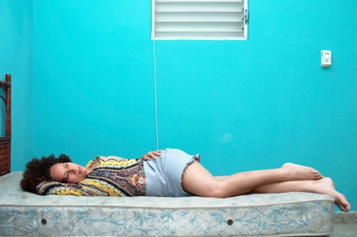Laura Daydreaming, Santo Domingo, R.D,  From Ni Agui, Ni Alla series, 2006. ©Groana Melendez