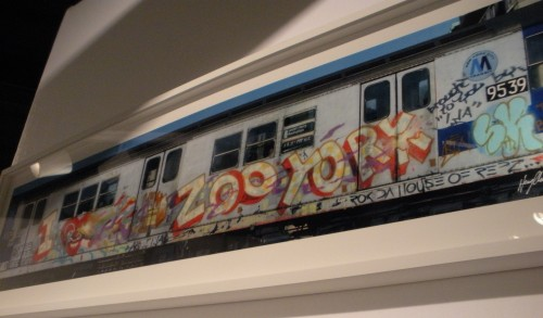 Henry Chalfant, I Love Zoo York By Ali, 1981, Kodak Professional Endura metallic paper, printed 2013