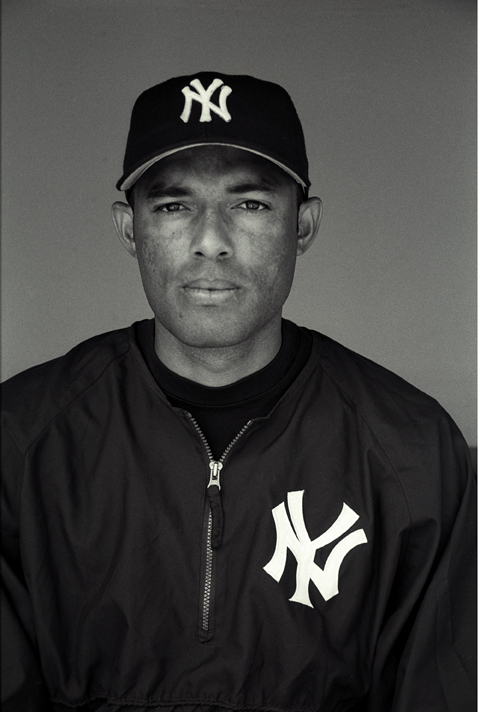 Rita Rivera, Mariano Rivera, Closing Pitcher for The New York Yankees, Latinos in Major League Baseball series, 2002/2013. Selenium toned gelatin silver print, 14 x 11""