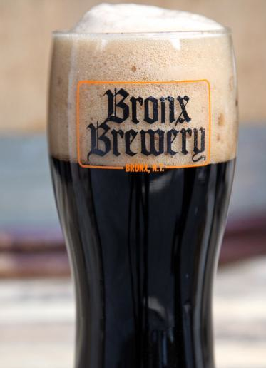 Photo © Bronx Brewery, BLack Pale Ale.