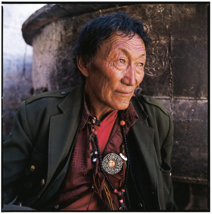 "Untitled, Shigatse, Tibet, 2001 Type–C print, 16 x 16"" Limited edition of 15. Price: $300"